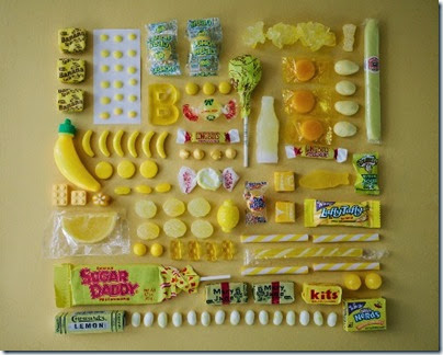 Emily Blincoe - Sugar Series - Yellow