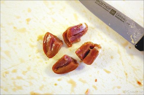 Ragu kycklinghjärta och bacon 21