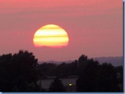 4754Minnesota - Burnsville, MN - Best Western Premier Nicollet Inn - sunset from our room