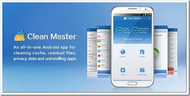 Download Clean Master v4.0.1 Apk Direct Link