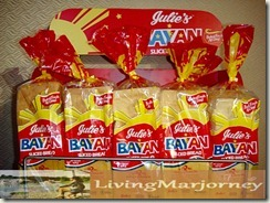 Julie's Bakeshop BAYAN Bread