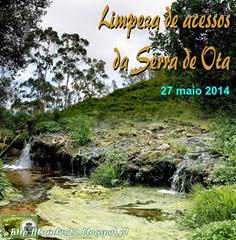 Limpeza acessos Serra Ota - 27.05.14