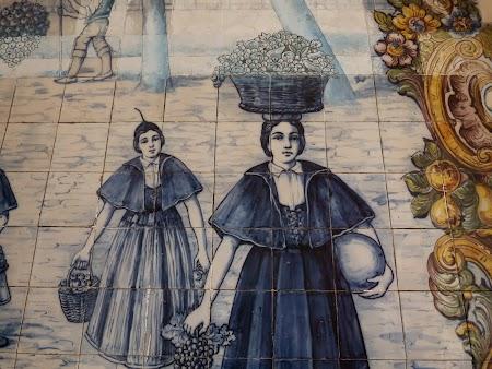 Revelion 2014:  Azulejos - faianta de Madeira