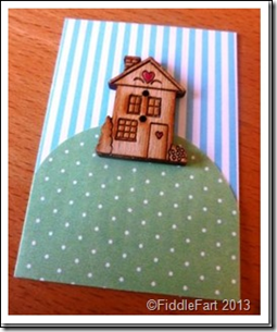 New Home Card. 2