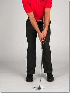 arm lock putter