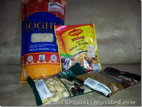 Nasi Beriani Maggi 1
