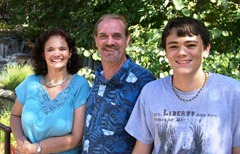 Clark Family - Prayer Card Photo 2012