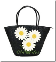 Lulu Guinness beach bag