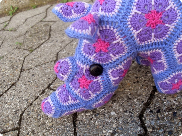 Et lilla næsehorn