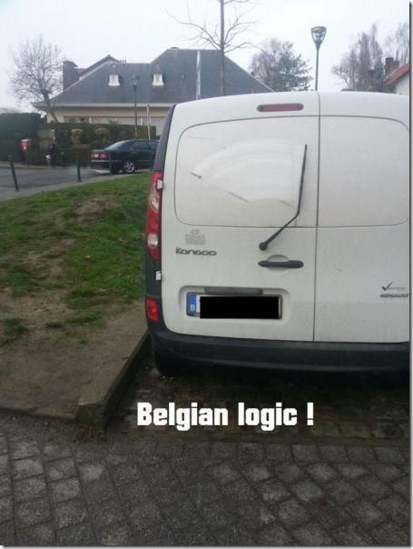 Belgian logic funny pics