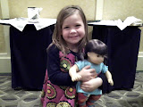 Smiles at the American Girl Fashion Show! (November)