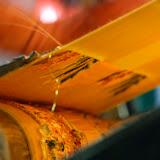 絹織りの様子。絹は古代からローマやエジプトにも輸出された。