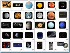 Calendar Connections Small Outer Space 2
