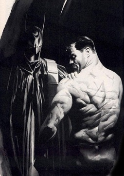 Alex Ross - Batman Scars sm