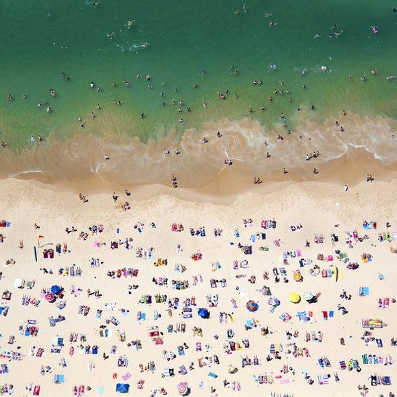Aerial Photos of Beaches by Gray Malin