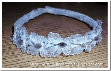 sparkly head band