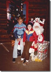 HALL_Jeff & Scott at Santas Village_1982