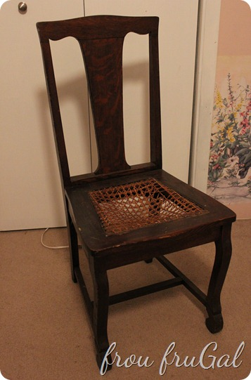 $8 Caned Chair