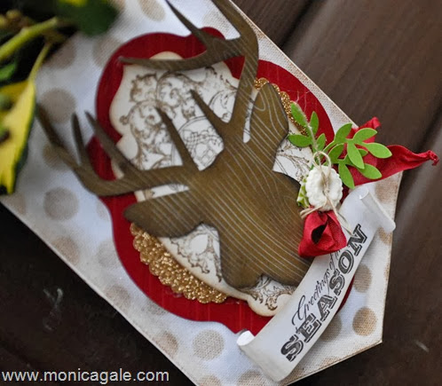 Stampin'Up! Remembering Christmas from UK demonstrator  Monica Gale close