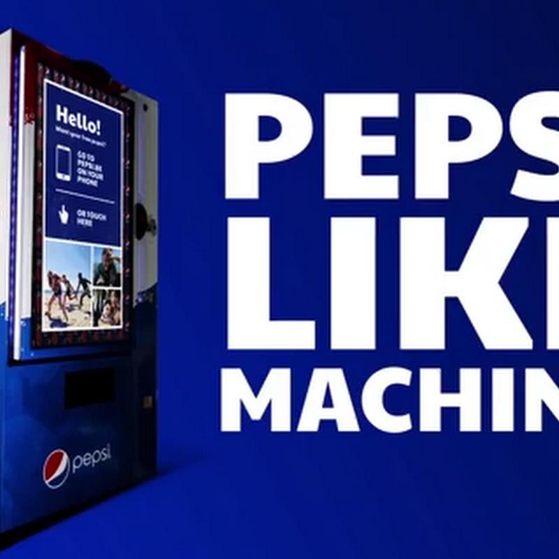 Pepsi a cambio de likes