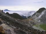 View from Antene peak on Sibayak (Daniel Quinn, August 2011)