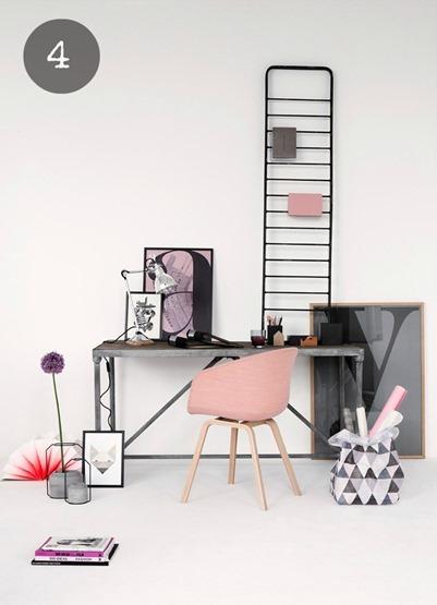 sedia-contemporanea-rosa