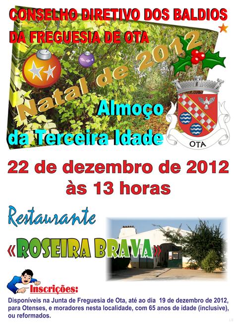 NATAL 2012 - PROGRAMA ALMOO 3a. IDADE