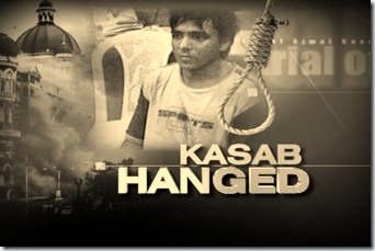 Kasab Hanged