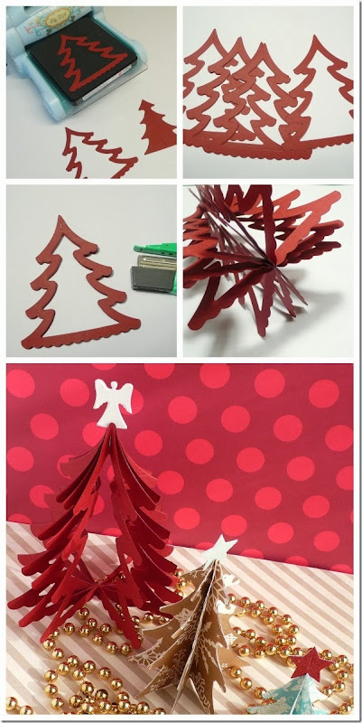 cafe creativo - sizzix big shot - christmas tree - holiday (5)