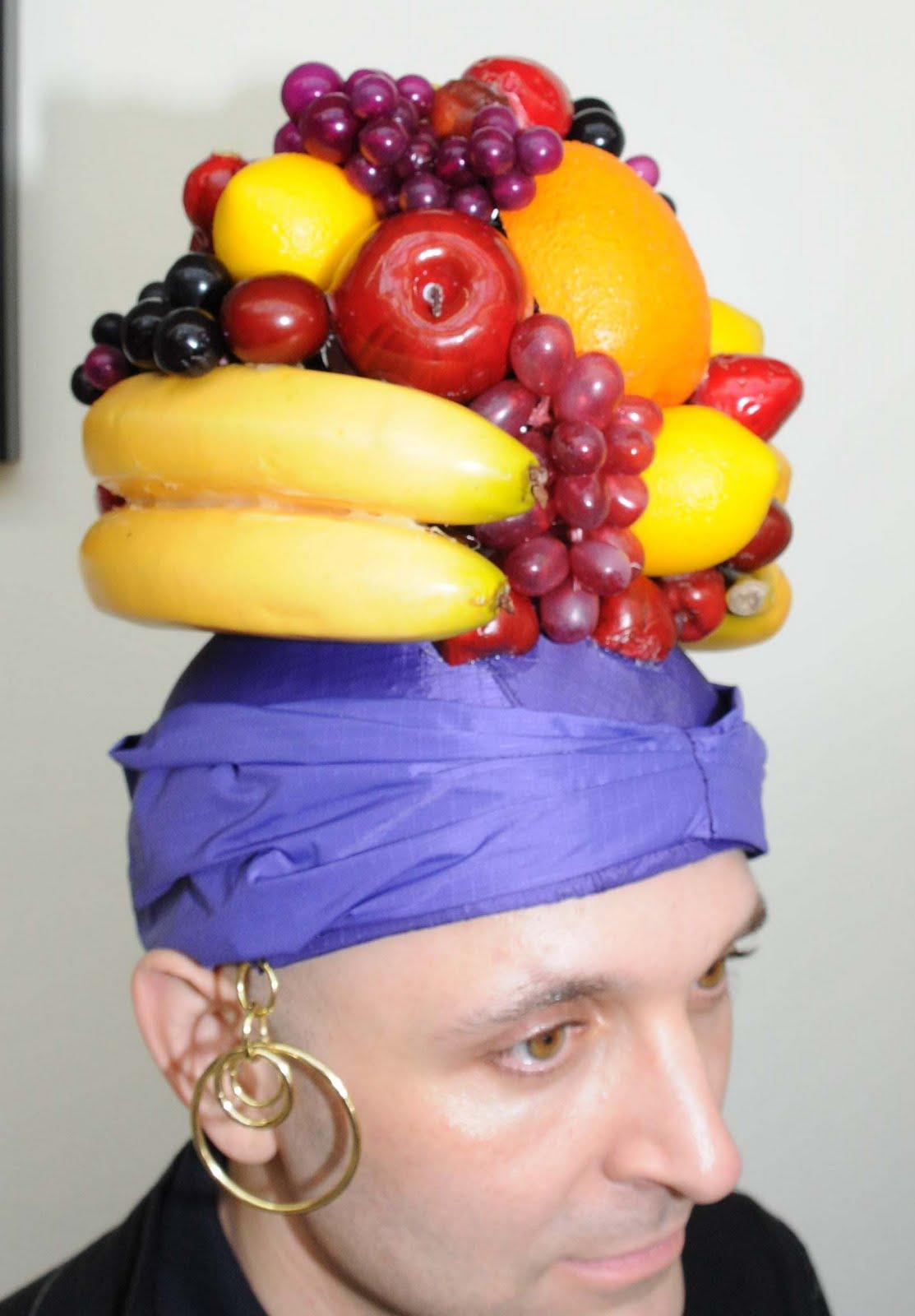 Шляпа фрукты своими руками 64