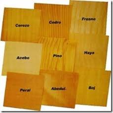 3.- Tipos de madera  para ingeniería