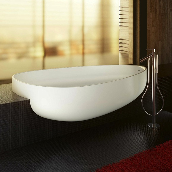 Organic-shaped-basin
