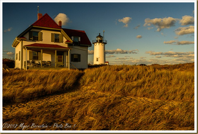 Race Point Light and Keepers House