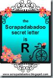 secret letter sign R