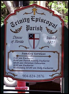 09a - Trinity Episcopal Parish Sign