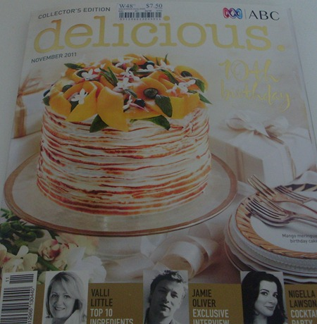 Delicious Magazine November 2011