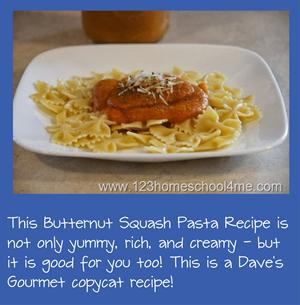 Dave's Gourmet Butternut Squash Pasta Sauce Copycat Recipe