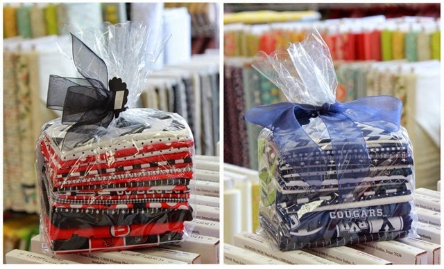 BYU and U of U quilt kits