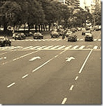 lane markers
