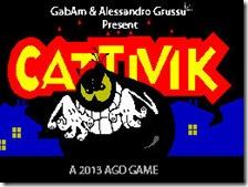 Title Screen di Cattivik