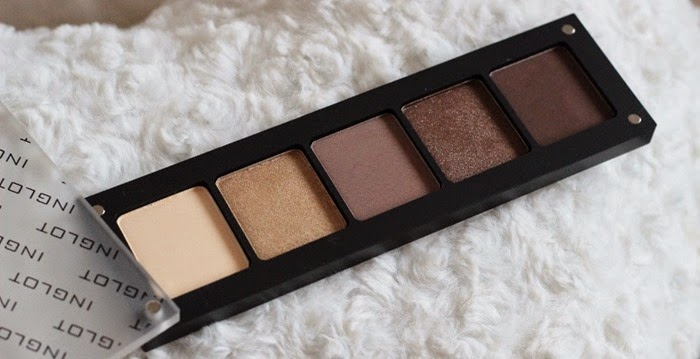 INGLOT neutral eyeshadow palette
