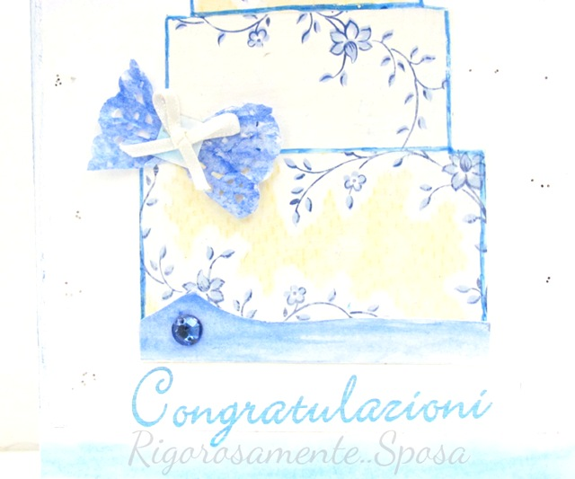 cartolina sposi, wedding card, diy