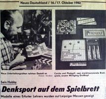 Nachgemacht - Spielekopien aus der DDR: Ideen und Irrwege – Spieleproduktion in der DDR - Labyrinth A-Z