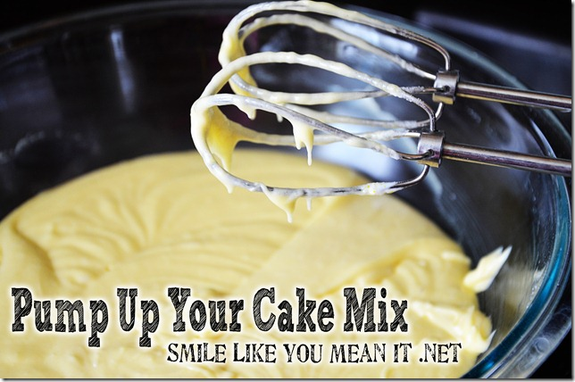 Make a Cake Mix better