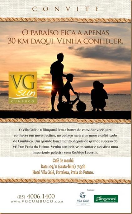 Convite Cumbuco