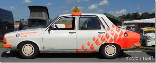 Dacia als safety car Classic Grandprix Schleiz 02