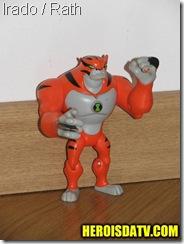 irado rath Bonecos Ben 10 Força Alienígena - brinquedos
