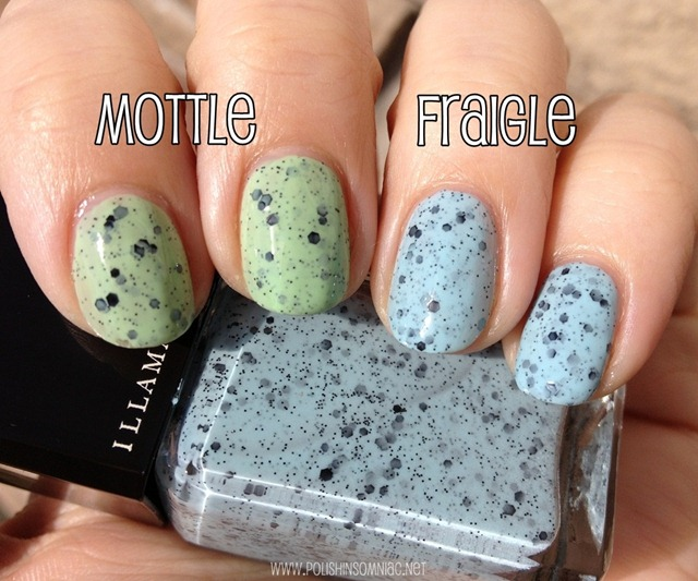 Illamasqua Mottle and Fraigle 3