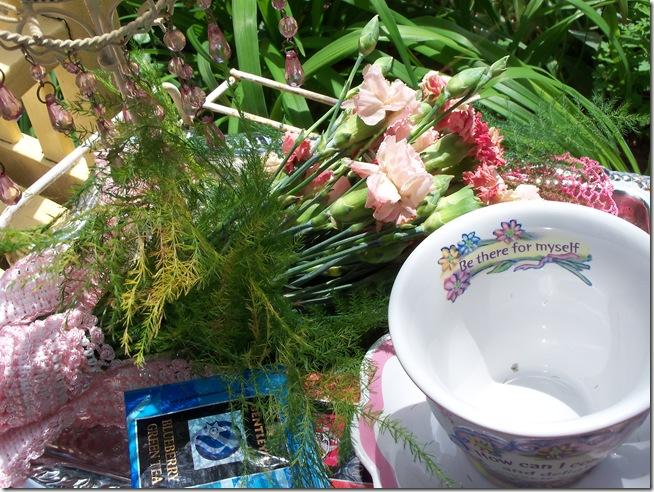 Carnation tea tray 015