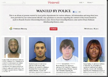 Pinterest-Wanted-by-Police